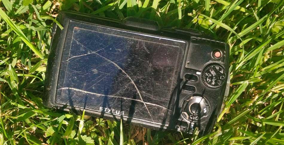 cámara sport resistente al agua y golpes
